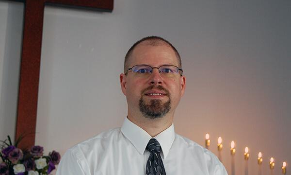 Photo of Pastor Schurman